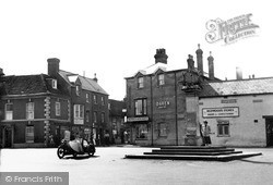Wilton, Market Place c.1955