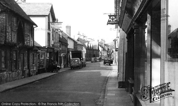 Photo of Wilton, North Street c.1955