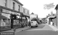 Wilton, North Street c.1955