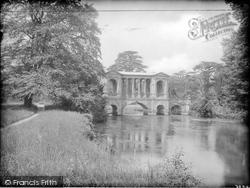 Wilton, Palladian Bridge In Park 1919