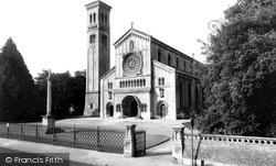 Parish Church c.1965, Wilton