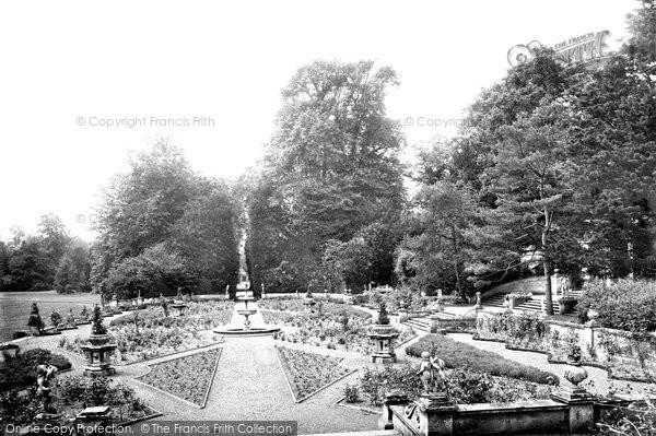 Photo of Wilton, Park, Italian Gardens 1919