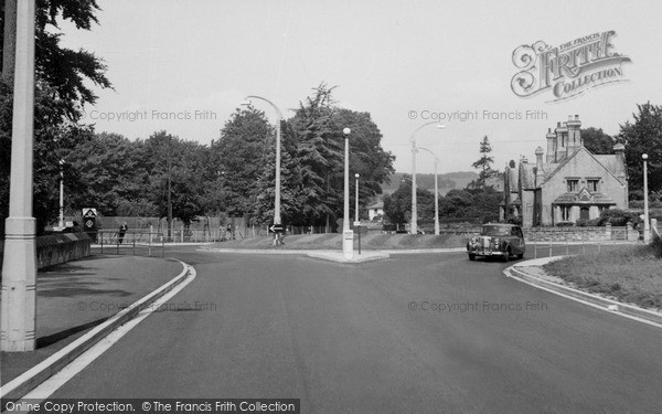 Photo of Wilton, Roundabout c.1955