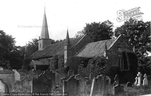 Photo of Wilton, St Cuthbert's Church 1891