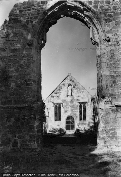 Photo of Wilton, The Ancient Church Arch c.1955