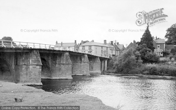 Photo of Wilton, The Bridge c.1955