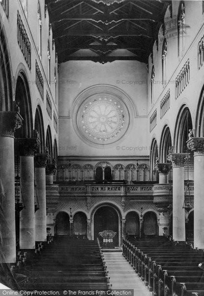 Photo of Wilton, The Church Font 1887