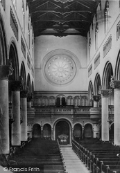 Wilton, The Church Font 1887