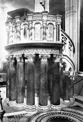 Wilton, The Church Pulpit 1887