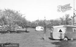The Garage Caravan Site c.1960, Wilton