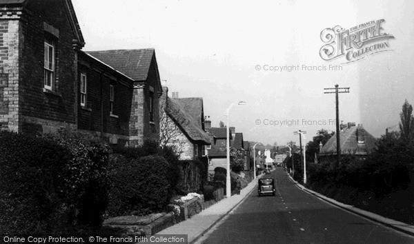 Photo of Wilton, The Main Road c.1955
