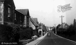 Wilton, The Main Road c.1955