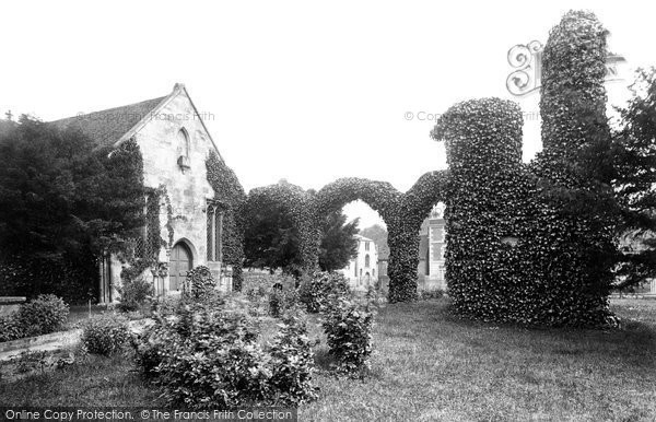 Photo of Wilton, The Old Church 1887