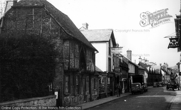 Photo of Wilton, The Old House, North Street c.1955