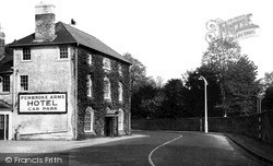 Wilton, The Pembroke Arms Hotel c.1955