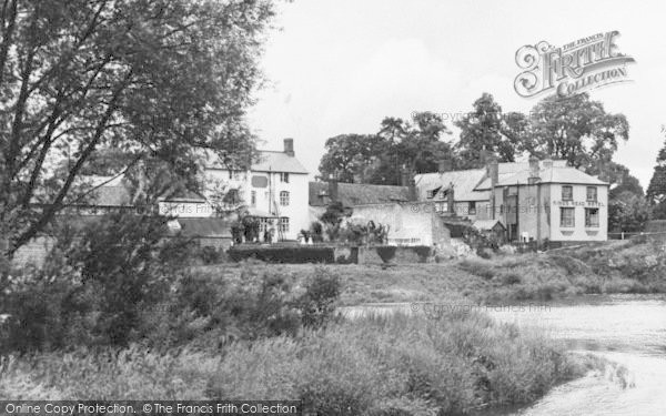 Photo of Wilton, The River Wye And King's Head Hotel c.1955
