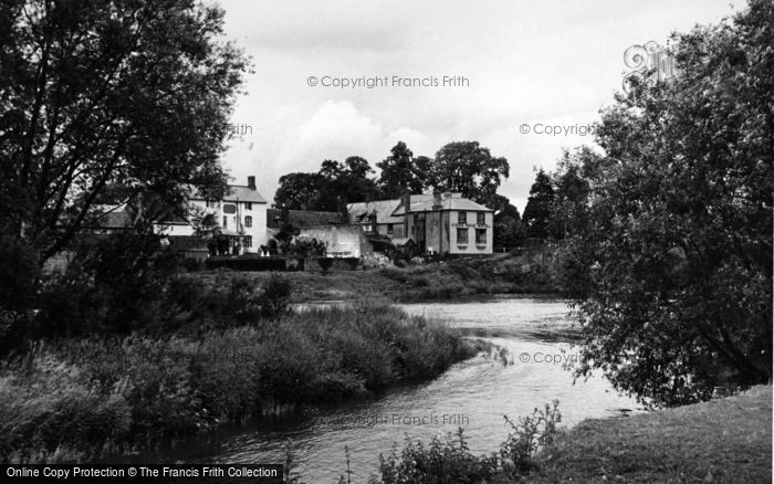 Photo of Wilton, The River Wye c.1955