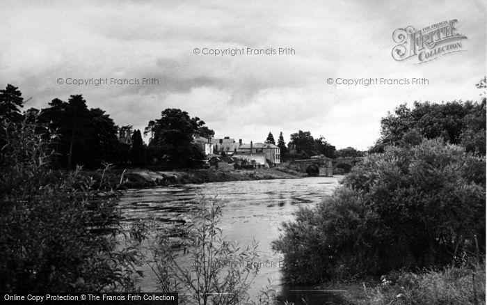Photo of Wilton, The River Wye c.1955