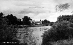 The River Wye c.1955, Wilton