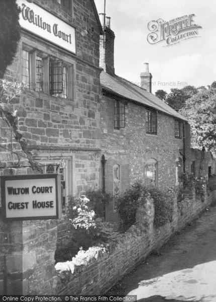 Photo of Wilton, The Wilton Court Guest House c.1960