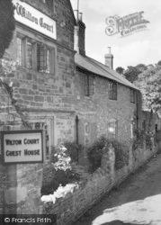 The Wilton Court Guest House c.1960, Wilton