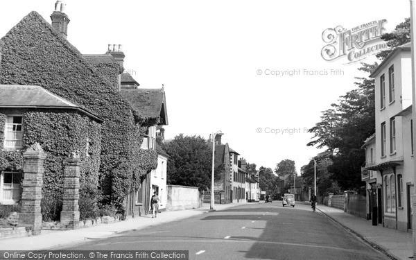 Photo of Wilton, West Street Looking East c.1955