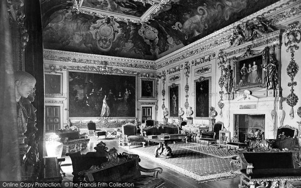 Photo of Wilton, Wilton House, Double Cube Room 1919
