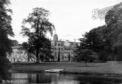 Wilton, Wilton House From The River Nadder 1887