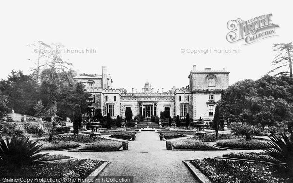 Photo of Wilton, Wilton House, Italian Gardens 1887