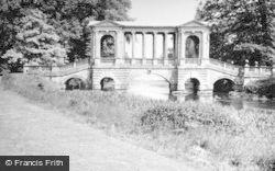 Wilton, Wilton House, The Palladian Bridge c.1950