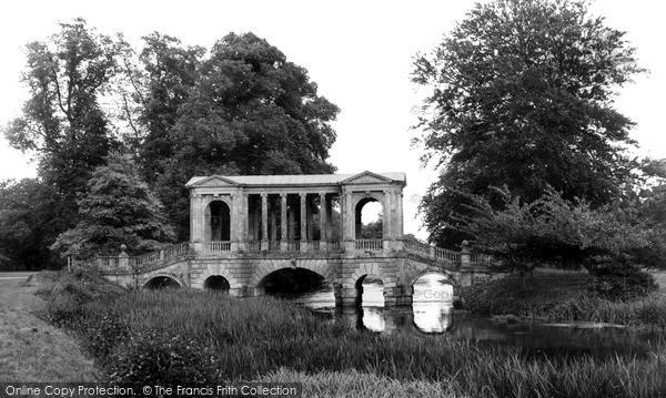 Photo of Wilton, Wilton House, The Palladian Bridge c.1965