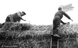 A Thatcher At Work c.1960, Wimbish