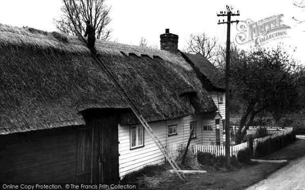 Photo of Wimbish, Aldridge's Cottage c.1960