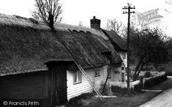 Aldridge's Cottage c.1960, Wimbish