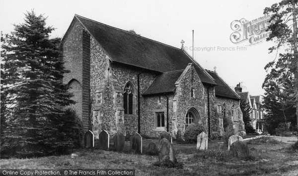 Photo of Wimbish, All Saints Church c.1960