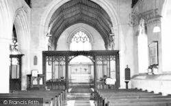 Church Interior c.1960, Wimbish