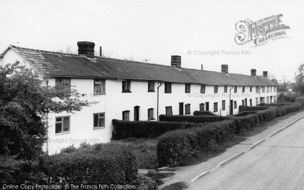 Photo of Wimbish, Old Cottages c.1960