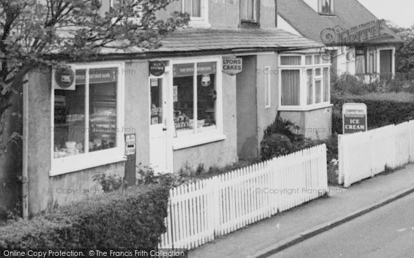 Photo of Wimbish, Post Office Stores c.1960