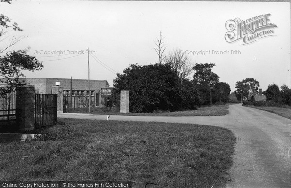 Photo of Wimbish, The Camp Entrance c.1950