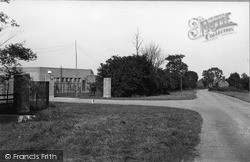 The Camp Entrance c.1950, Wimbish