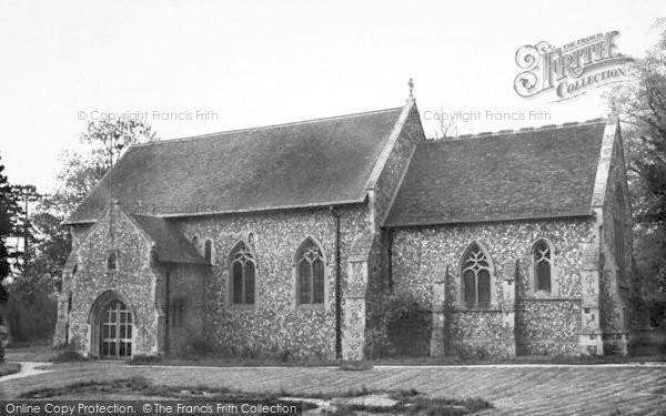 Photo of Wimbish, The Church c.1960