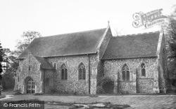The Church c.1960, Wimbish
