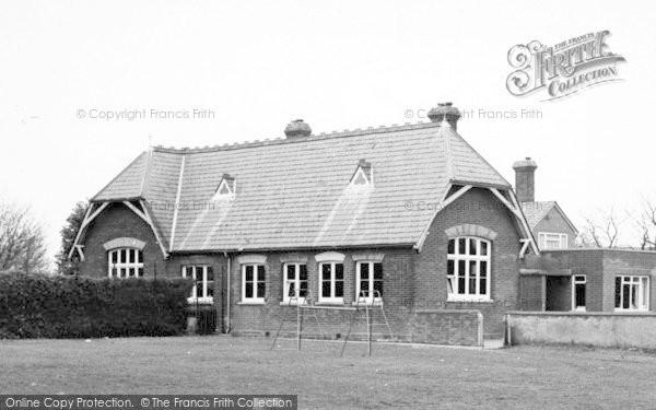 Photo of Wimbish, The School c.1960