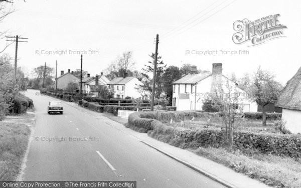 Photo of Wimbish, The Village c.1960