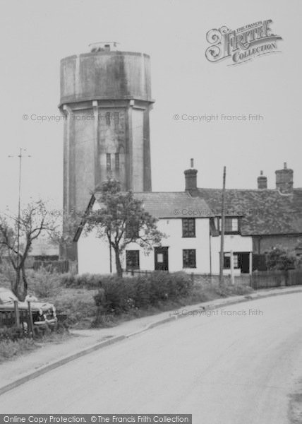 Photo of Wimbish, Water Tower c.1960