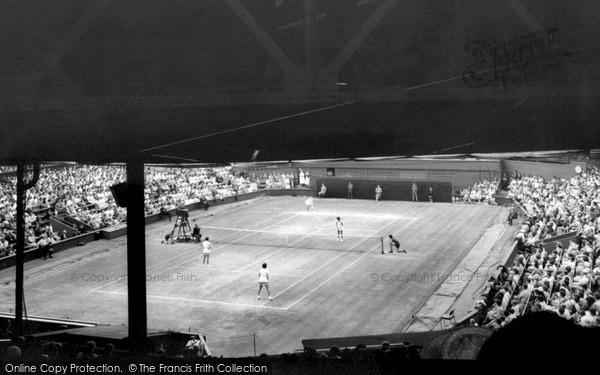 Wimbledon, Centre Court c.1960