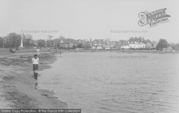 Photo of Wimbledon, Common, The Pond c.1955