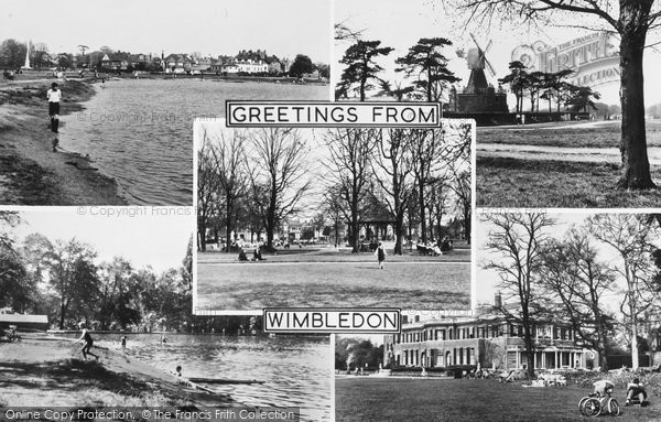 Photo of Wimbledon, Composite c.1955