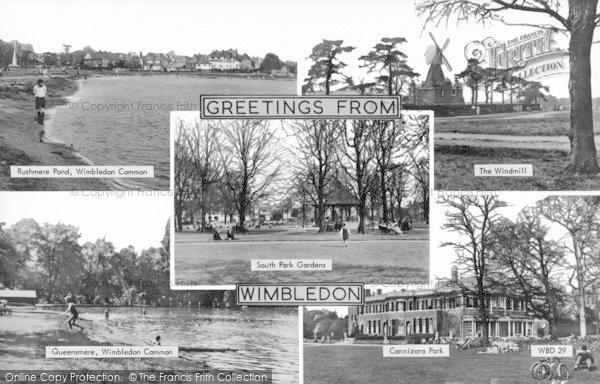 Photo of Wimbledon, Composite c.1955