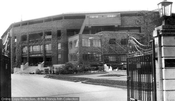 Wimbledon, Entrance To The Centre Court 1961